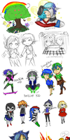Update: Un-canon Doodles by Rndom-Obsessions