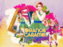 Orange Caramel Lipstick Nana by Bellacrix