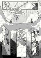 Waterfall comic, page one by smokewithoutmirrors