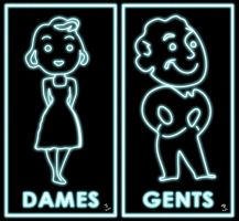 Dames and Gents by tinamin1