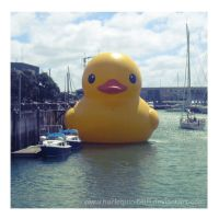 GIANT ASS DUCK by lady-leliel
