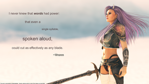 Words Have Power by 3D-Fantasy-Art