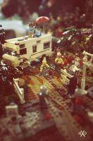 The Walking LEGO Dead by Z-UO