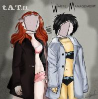 Waste Management color version by Eilyn-Chan