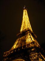Eiffel Tower in the Night 2 by Myrthilla