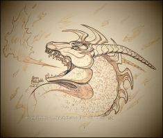 .:: Edendis Sketch Commission ::. by Windspirit-Aquaeris