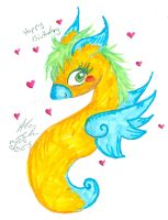 2014 Birthday arts for Sis Zoe by Kittychan2005