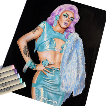 AJA Drawing by PierceTheParamorance
