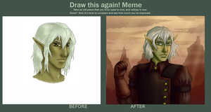 Before and After MEME by Moferiah