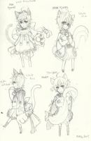 Kitty Outfits by suga-ovadose