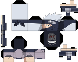 Kakashi Young Anime 2 by hollowkingking