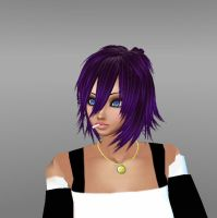 Mizore Shirayuki Portrait IMVU by charlietinks