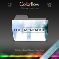 Colorflow TV Folder Icons: The Mentalist by Crazyfool16