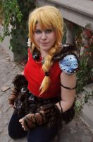 Astrid - How Train To Your Dragon 2 by Kibamarta