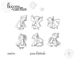 Marion - Attitude Poses by boum