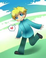 hey look, it's butters by SouthParkFantasy