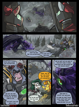 Lunar Isolation Pg 138 by TheDracoJayProduct