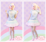 Ice Cream Party Fairy Kei Outfit by ShyDaniLamb