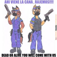 We are the law!!!! by DingoPatagonico