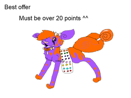 Candy Adoptable Best Offer OPEN by CCMacoroniAdoptables