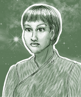 Sub-Commander T'Pol by ErinPtah