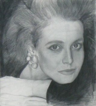 Sigourney Weaver,pencil on paper by Paulstered