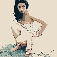 Amy Winehouse by nicollearl