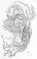 Wizard by tat2doc