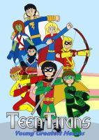 Teen Titans - Young Greatest Heroes by MCsaurus