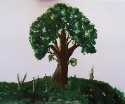Tree Painting by InfinateEclipse