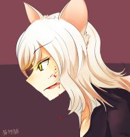 Black Hanekawa by einstery