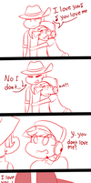 TF2- Scout x Sniper comic by SabrinaSoly125