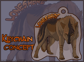 Lonesabre Keychain concept by DawnFrost
