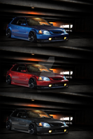 honda civic color versions by SkicaDesign