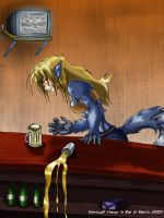 Werewolf Change in Bar- FINISH by Barrin84