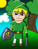 Wind Waker Toon Link by water16dragon