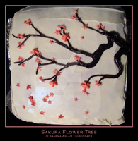 Cake: Sakura Flower Tree by simonsaz3