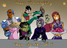 Turkey Day at the T Tower by kadenfukuyama