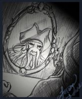 Davy Jones--Sketch by SakuraL