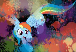 Rainbowdash Approves Logo by InkKirby