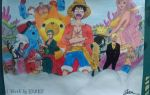 *One Piece*Art work {hand drawn}project 1 by JasonDreamer