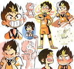 Nishinoya by blargberries