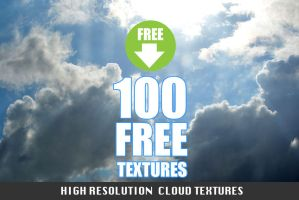 100 Free Clouds  Texture  by FayssalArt