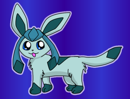 Glaceon for Dress Up by pichu90
