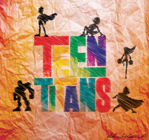Teen Titans by jaaawn