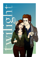 Twilight : Edward and Bella by Marc-G