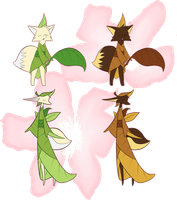 Matcha Fakemon Group by Aetherium-Aeon