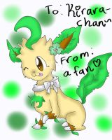 To Kirara-Chan by FlaraTheFlareon