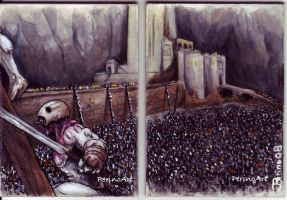 Helms Deep by ringbearer80