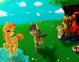 Summer time... CE for LoadedDice[step by step] by AviAlexis25